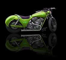 Custom Bike Greenn by William Reed