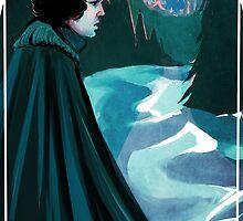 Jon Snow: Mountains by Madison Coyne