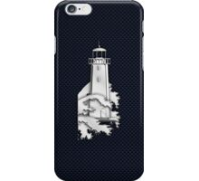 Nautical Chrome Mighty Lighthouse iPhone Case/Skin