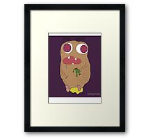 party animal (illution eyes) Framed Print