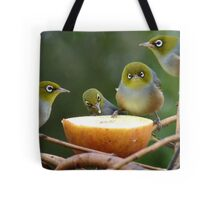 Don't Put YOUR Foot In It!!! - Silver-Eyes - NZ Tote Bag