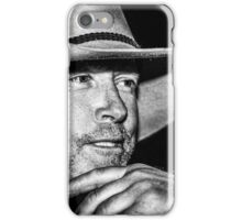 Man of the land iPhone Case/Skin
