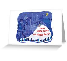 Seattle Holiday Card Greeting Card