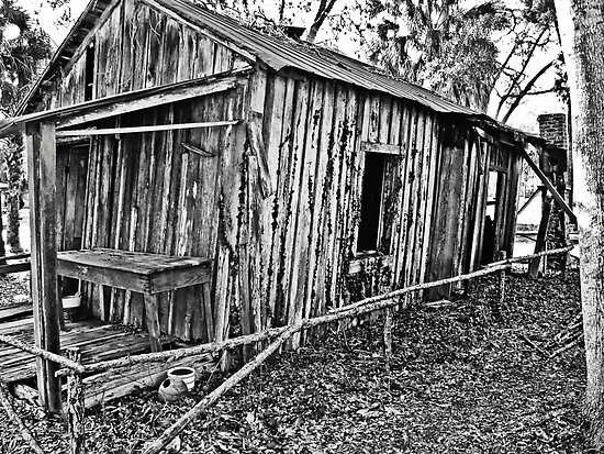 mid 1800s Slave house by wendyL