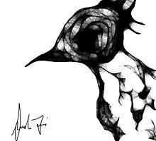 Psycho Bird by SarahFasi