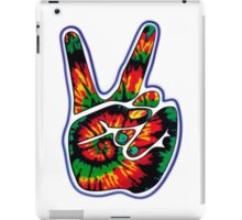 Tie-Dye Peace Sign iPad Case/Skin