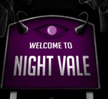 Welcome to Night Vale x Silent Hill Mash Up  Sticker