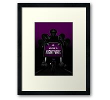 Welcome to Night Vale x Silent Hill Mash Up  Framed Print