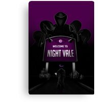 Welcome to Night Vale x Silent Hill Mash Up  Canvas Print
