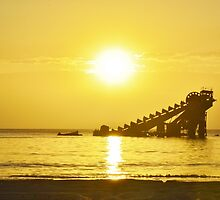 Tangalooma Sunset by Chris Hinde