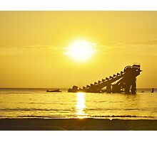 Tangalooma Sunset Photographic Print