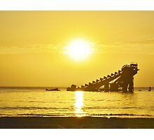 Tangalooma Sunset Photographic Print