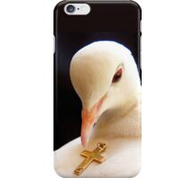 Unconditional Love - White Collard Dove - NZ iPhone Case/Skin