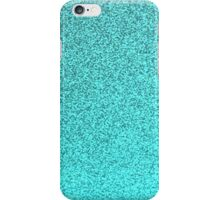 Teal glitter design iphone case iPhone Case/Skin