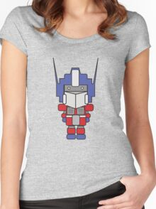 Optimus Prime! Women's Fitted Scoop T-Shirt