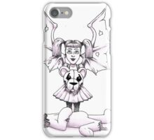 Ted lost his head over Evil Angel iPhone Case/Skin