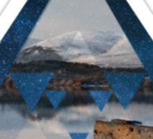 Pyramid of Tranquility Sticker
