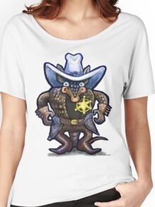 Sheriff Dillo Women's Relaxed Fit T-Shirt
