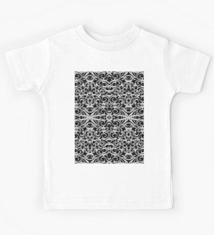 Floral abstract background Kids Tee