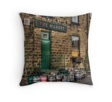 Kegs Throw Pillow