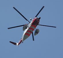 Coast Guard Helicopter by bubblebat