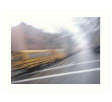 brooklyn buses Art Print