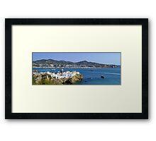 Ibiza Town Framed Print