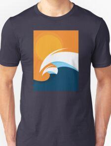 Morning Peaks | Wave Art Unisex T-Shirt