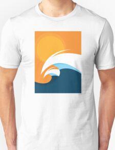 Morning Peaks | Wave Art T-Shirt