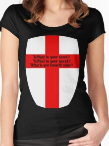 bridge of death Women's Fitted Scoop T-Shirt