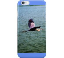 Heron in Flight iPhone Case/Skin
