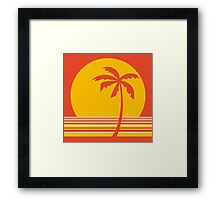 palm collection Framed Print