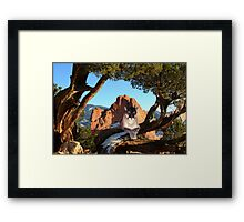 NA771-High Vantage Point Framed Print