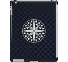 Chrome Style Nautical Compass Star iPad Case/Skin