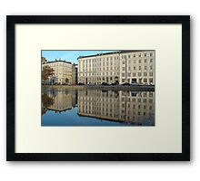 Urban Reflections Framed Print