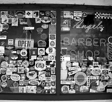 """Route 66 barbershop"" by David Lee Thompson"