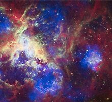 Tarantula Nebula by luckylucy