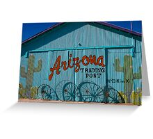 Arizona Trading Post Greeting Card