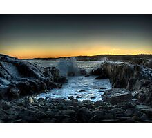 Gooseberry Cove Photographic Print