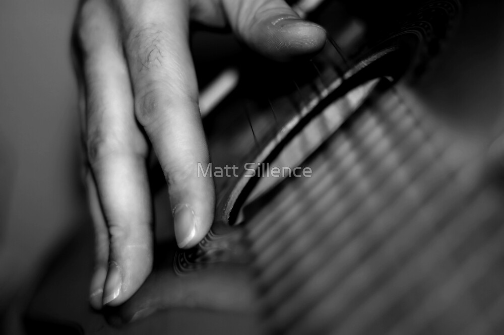 Guitar Playing by Matt Sillence