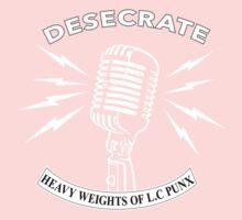 Desecrate - Heavy Wieghts Of L.C PUNX 2 Kids Tee