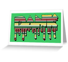 Dank - Rasta Drips Greeting Card