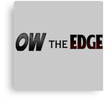 Shadow The Hedgehog - Ow The Edge Canvas Print