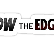 Shadow The Hedgehog - Ow The Edge Sticker