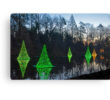 Reflections of Christmas Canvas Print