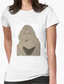 Cat Woman Womens Fitted T-Shirt