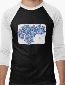Hover Fly Chrysanths Men's Baseball ¾ T-Shirt