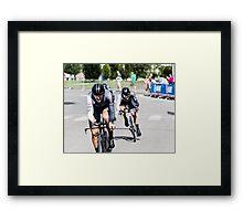 Trek Factory Racing Framed Print