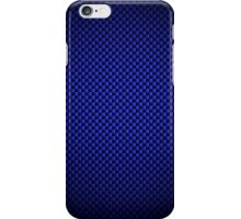 Blue Carbon Fibre iPhone / Samsung Galaxy Case iPhone Case/Skin