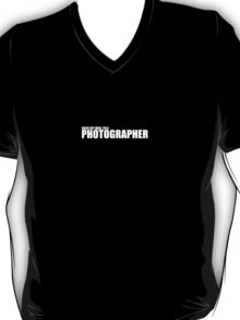 Back Off Man I'm A Photographer T-Shirt